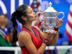 Emma Raducanu's life will change after her US Open triumph (Seth Wenig/AP)