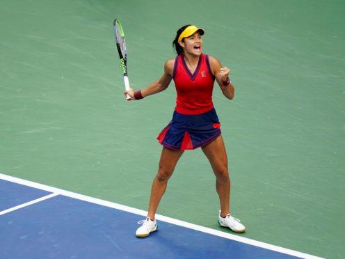 Emma Raducanu won the US Open at the weekend (Frank Franklin II/AP/PA)