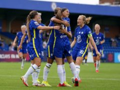 Champions Chelsea got back to winning ways in the Women's Super League (Gareth Fuller/PA)