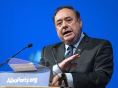 Alex Salmond said the publication would be sent to 100,000 homes ahead of council elections next year (Jane Barlow/PA)