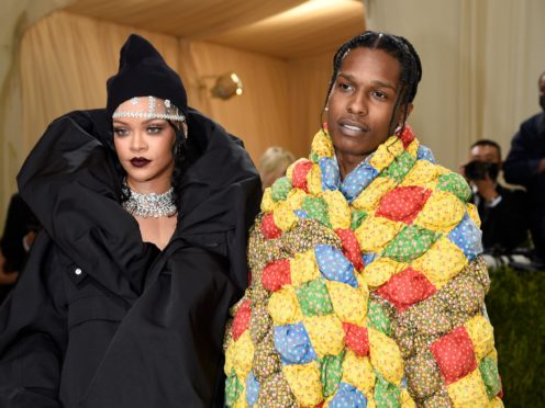 Rihanna and Asap Rocky made an eye-catching appearance at the Met Gala, bringing winter chic to the carpet (Evan Agostini/Invision/AP)