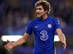Marcos Alonso, pictured, has been supported by Chelsea over his decision to stop taking the knee (John Walton/PA)