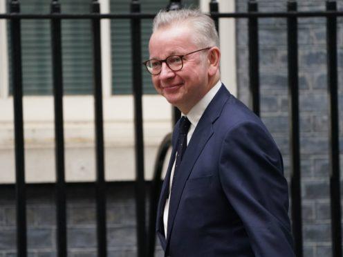 New Levelling Up Secretary Michael Gove (Victoria Jones/PA)