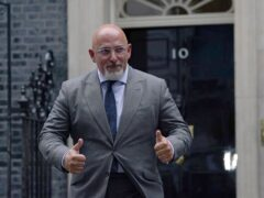 Education Secretary Nadhim Zahawi has said the Government 'won't stand back and let attendance fall' after official figures recently showed more than 100,000 children were out of school in England for Covid-19 related reasons (Victoria Jones/PA)