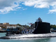 The Virginia-class fast-attack submarine USS Illinois (US Navy/AP)