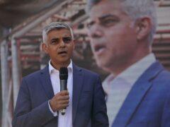 Mayor of London Sadiq Khan. (Kirsty O'Connor/PA)