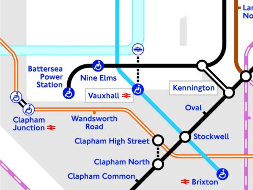 London Underground's first major expansion this century opens on Monday (TfL/PA)