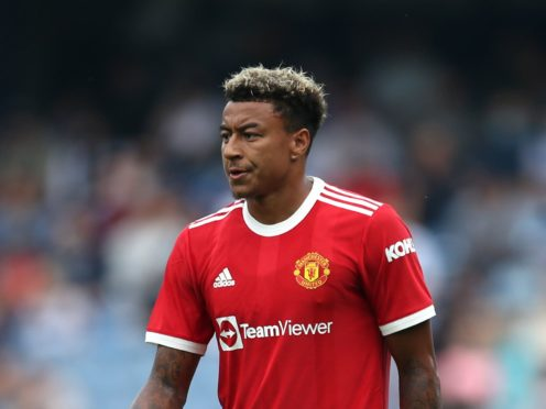 Manchester United's Jesse Lingard could start against West Ham in the Carabao Cup on Wednesday evening (Steven Paston/PA)