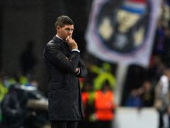 Rangers manager Steven Gerrard is waiting on Ryan Kent injury news (Andrew Milligan/PA)