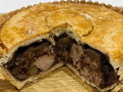 The Supreme Champion of the 2021 British Pie Awards, a Meat and Potato Pie from Nottinghamshire based Bowring Butchers (British Pie Awards/PA)