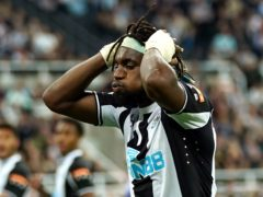 Newcastle's Allan Saint-Maximin is confident there is more to come from him (Owen Humphreys/PA)
