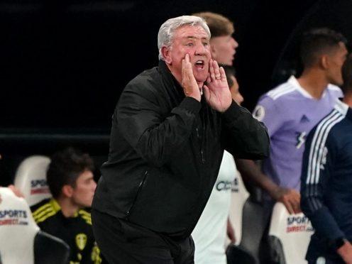 Newcastle head coach Steve Bruce faced fresh calls for him to go (Owen Humphreys/PA)