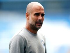 Manchester City manager Pep Guardiola (Zac Goodwin/PA)