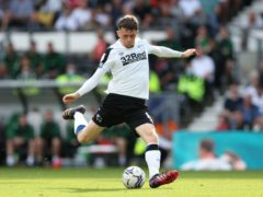 Max Bird gave Derby the lead against Stoke (Barrington Coombs/PA)