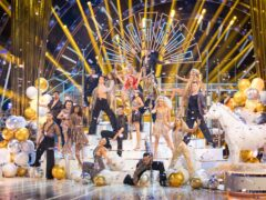The professional dancers (Guy Levy/BBC)