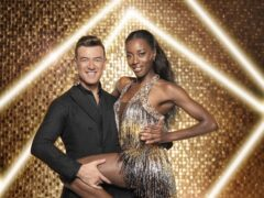 AJ Odudu and Kai Widdrington (Ray Burmiston/BBC/PA)