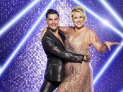 Aljaz Skorjanec has praised his Strictly partner Sara Davies (Ray Burmiston/BBC)