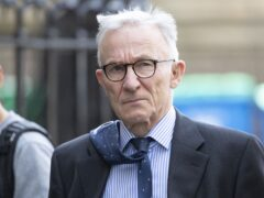 Lord Brodie is chairing the Scottish Hospitals Inquiry which began hearing evidence on Monday into problems at two flagship Scottish hospitals that contributed to the death of some child patients (Jane Barlow/PA)