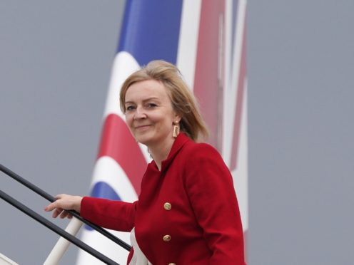 Liz Truss will call for the immediate release of the UK nationals (Stefan Rousseau/PA)