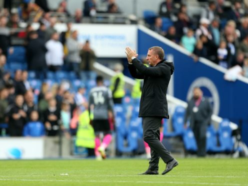Brendan Rodgers' side had two goals chalked off by VAR (Steven Paston/PA)