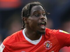 Pelly-Ruddock Mpanzu could be unavailable for Luton until after the international break (James Holyoak/PA)