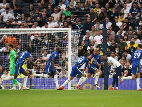 Chelsea claimed an impressive victory at Tottenham (Tim Goode/PA)