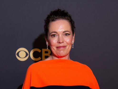Olivia Colman broke down in tears while paying tribute to her late father following her Emmy Award win for The Crown (Joel C Ryan/Invision/AP)