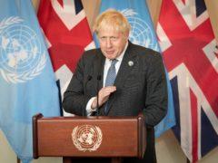 Prime Minister Boris Johnson (Stefan Rousseau/PA)