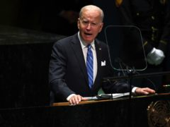 US President Joe Biden aims to share one billion vaccine doses with the world (Timothy A. Clary/Pool Photo via AP)