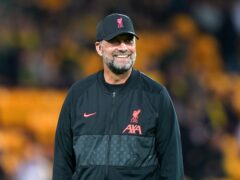 Liverpool manager Jurgen Klopp is excited at the prospect of safe standing being trialled at the top level of the English game (Joe Giddens/PA)