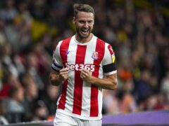 Nick Powell could return after injury for Stoke (David Davies/PA)