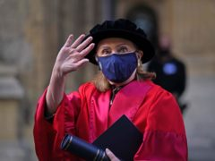Former US secretary of state Hillary Clinton has received an honorary degree from Oxford University (Steve Parsons/PA)