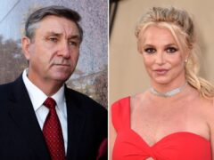 Lawyers for Britney Spears have repeated their calls for her father Jamie to immediately step down from her conservatorship (AP Photo)