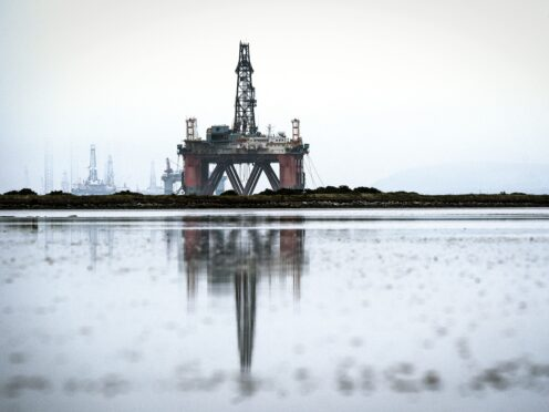 The price of oil hit a three-year high on Tuesday (Jane Barlow/PA)