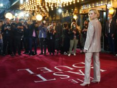Jodie Comer attends the UK premiere of The Last Duel (Yui Mok/PA)