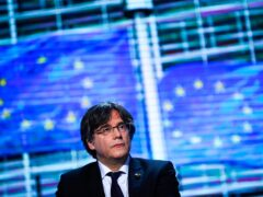 The lawyer for Carles Puigdemont says the former Catalan leader has been detained in Sardinia, Italy (Francisco Seco/AP)