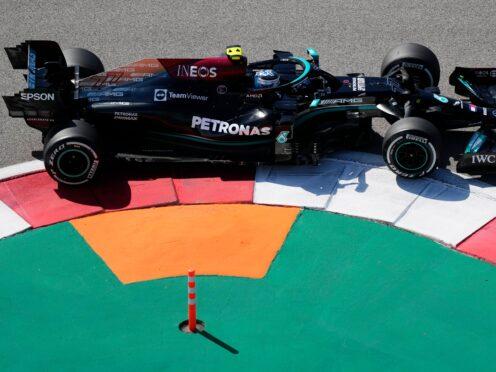 Mercedes driver Valtteri Bottas (Sergei Grits/AP)
