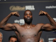 Lawrence Okolie made a successful defence of his WBO cruiserweight title (Zac Goodwin/PA)