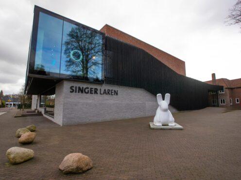 The Van Gogh painting The Parsonage Garden At Nuenen In Spring 1884 was stolen from the Singer Laren museum east of Amsterdam (Peter Dejong/AP)