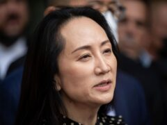 Two Canadians detained in China on spying charges have been released from prison and flown out of the country hours after a top executive, Meng Wanzhou, picture, of Chinese communications giant Huawei Technologies resolved criminal charges against her in a deal with the US (Darryl Dyck/The Canadian Press/AP)