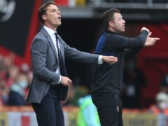Bournemouth manager Scott Parker praised his players after the win over Luton (Steven Paston/PA)