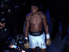Anthony Joshua walked out of the ring after his defeat (Nick Potts/PA)