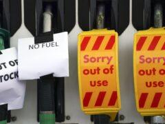 A Shell petrol station in Bracknell (Steve Parsons/PA)