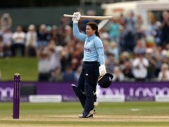 Tammy Beaumont struck a century for England (Steven Paston/PA)