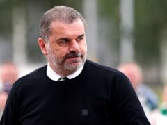 Celtic manager Ange Postecoglou preparing for Bayer Leverkusen (Jane Barlow/PA)