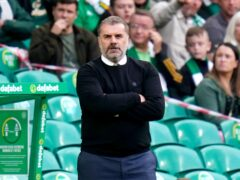 Celtic manager Ange Postecoglou is expecting a tough test against Leverkusen (Jane Barlow/PA)
