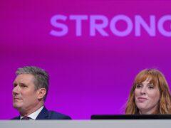 Labour Party leader Sir Keir Starmer and deputy leader Angela Rayner (Stefan Rousseau/PA)
