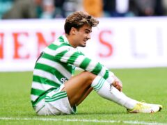 There's a long way to go in league, says Celtic attacker Jota (Jane Barlow/PA)