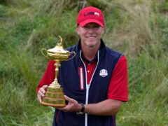 Steve Stricker has ruled out a second spell as US Ryder Cup captain (Ashley Landis/AP)