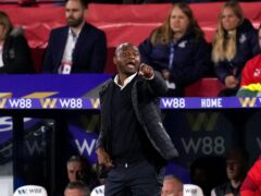 Patrick Vieira has changed Crystal Palace's style but they have only won once under Roy Hodgson's successor (John Walton/PA)